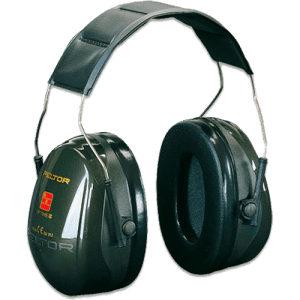 3M Peltor Optime II Headband Ear Muffs