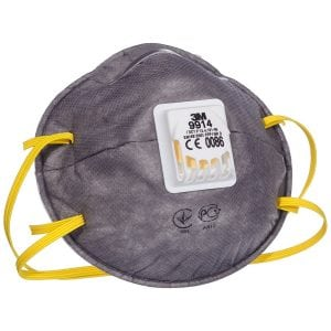 """3M""""¢ 9914 Cup-Shaped Valved Dust/Mist/Nuisance Odour Respirator (P2V)"""