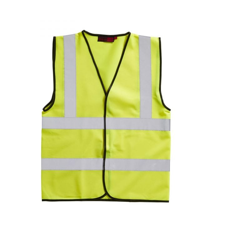 Yellow High Visibility Waistcoat