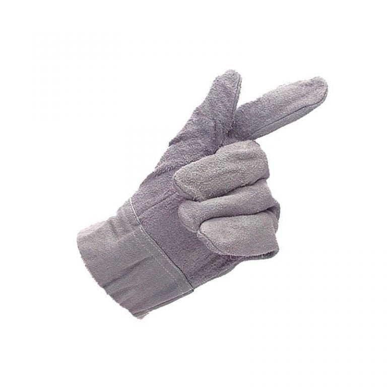 Mens Double Thickness Chrome Leather Palm Gloves