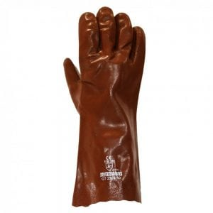 "Red PVC Lightweight 14"" Hurricane Gauntlet"