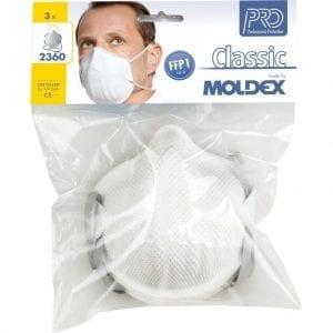 Moldex A2360 Mask Blister Pack FFP1 NR D (P1V)
