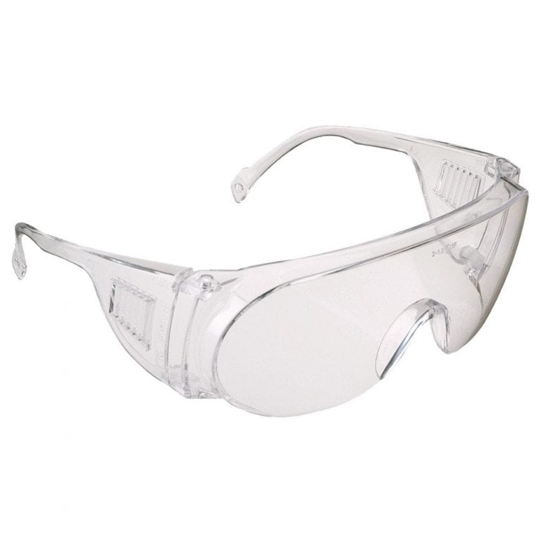 JSP M9300 Overspec Clear Lens Safety Spectacles