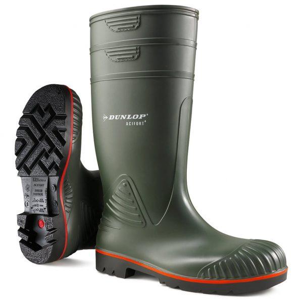 Dunlop® Acifort® Heavy Duty Full Safety Wellington Boots