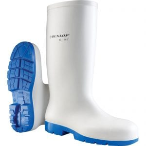 Dunlop Acifort Classic+ White Safety Wellington Boots