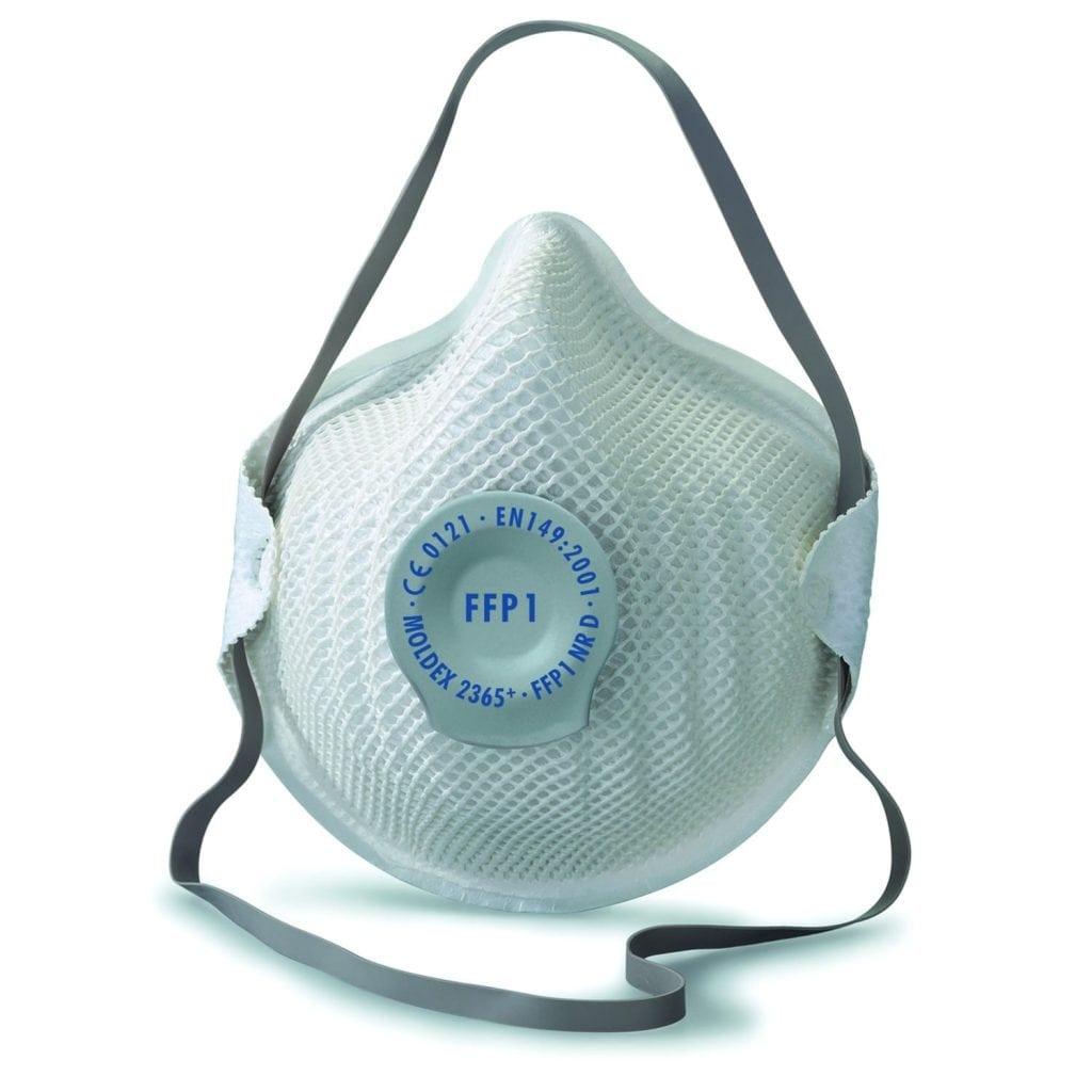 Moldex 2365 Disposable Dust Mask With Valve (P1V) FFP1 NR D