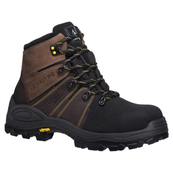 Lemaitre Trek Brun S3 Waterproof Hiking Boots
